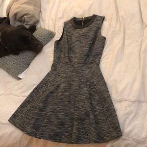 Gray Madewell sleeveless work dress size 2
